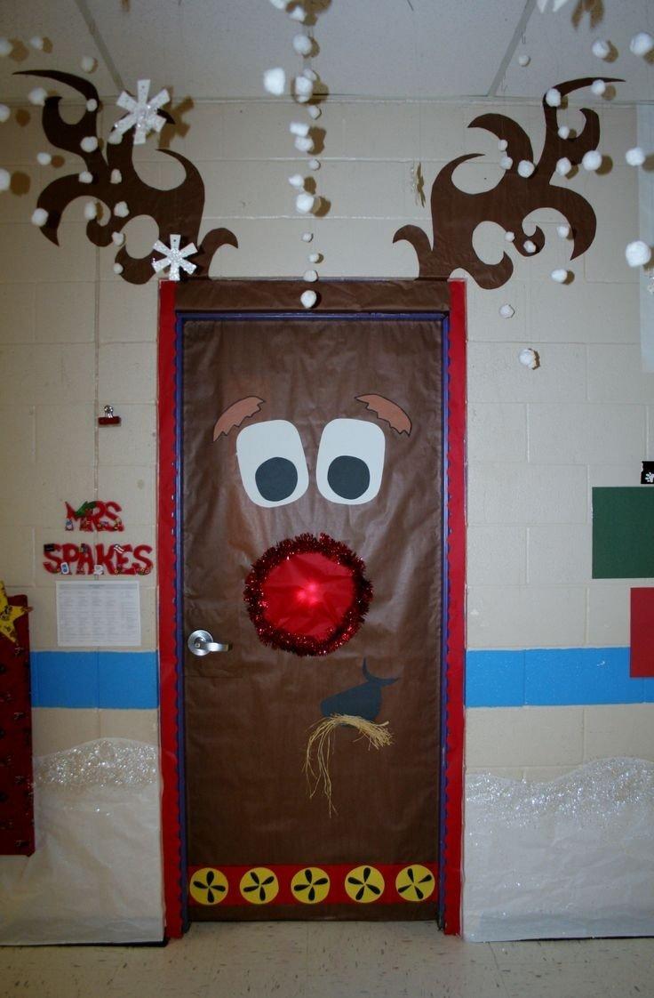 10 attractive office door christmas decorating ideas office door christmas decoration pictures office door christmas
