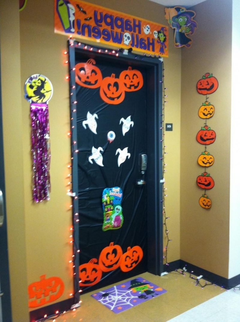 10 Fabulous Halloween Door Decorating Contest Ideas