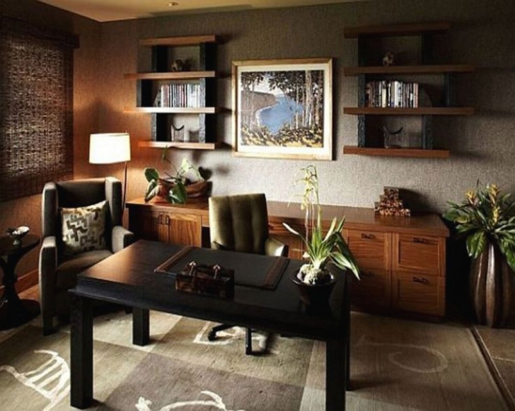 10 Attractive Office Decorating Ideas For Men office home office design ideas for men mens office decorating 1