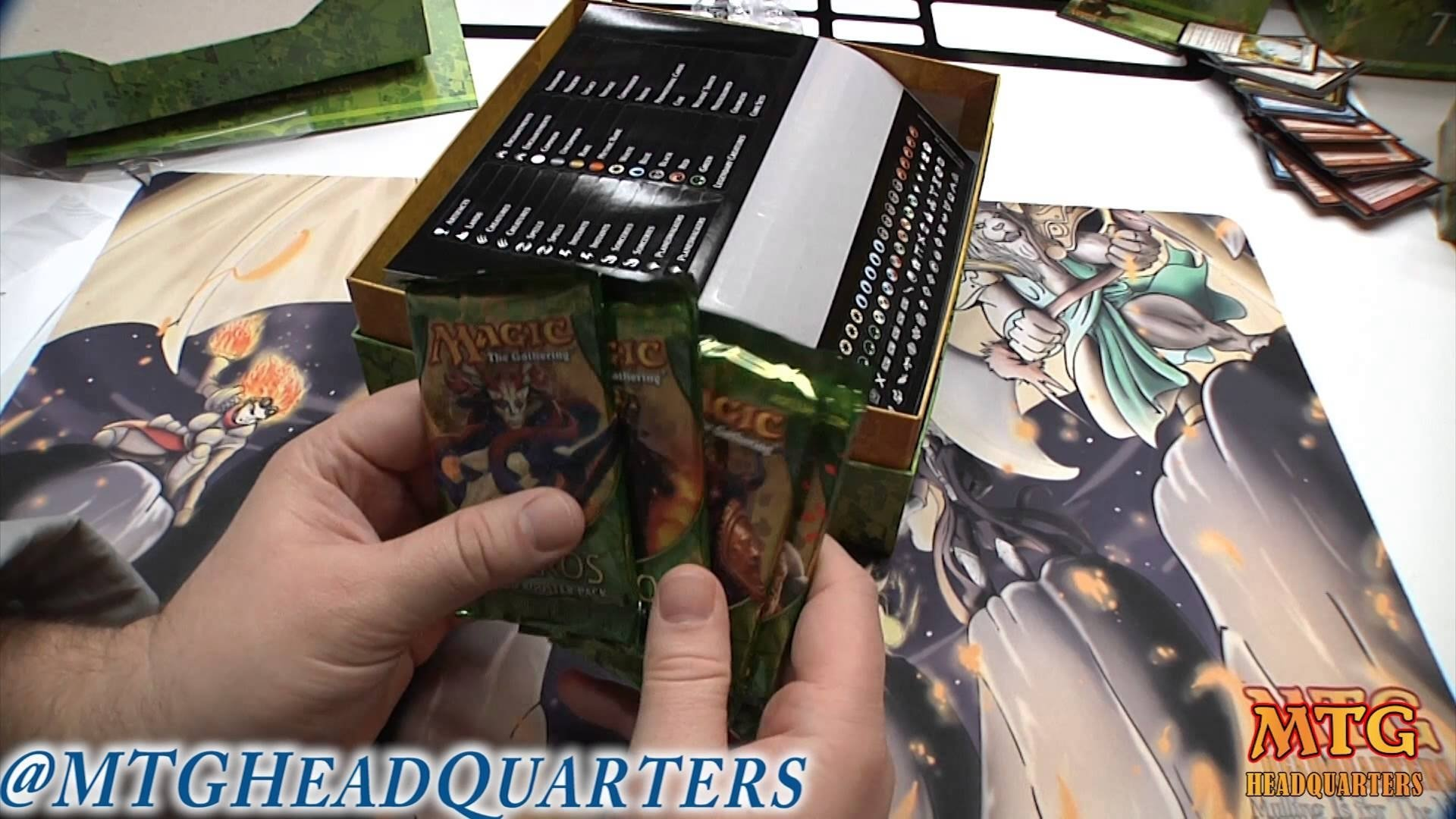10 Most Popular Magic The Gathering Gift Ideas official mtg theros holiday gift box opening review youtube 2020