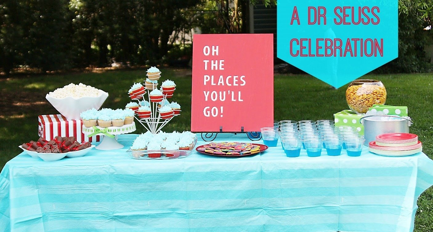 oh the places you'll go! {a seuss style party} -