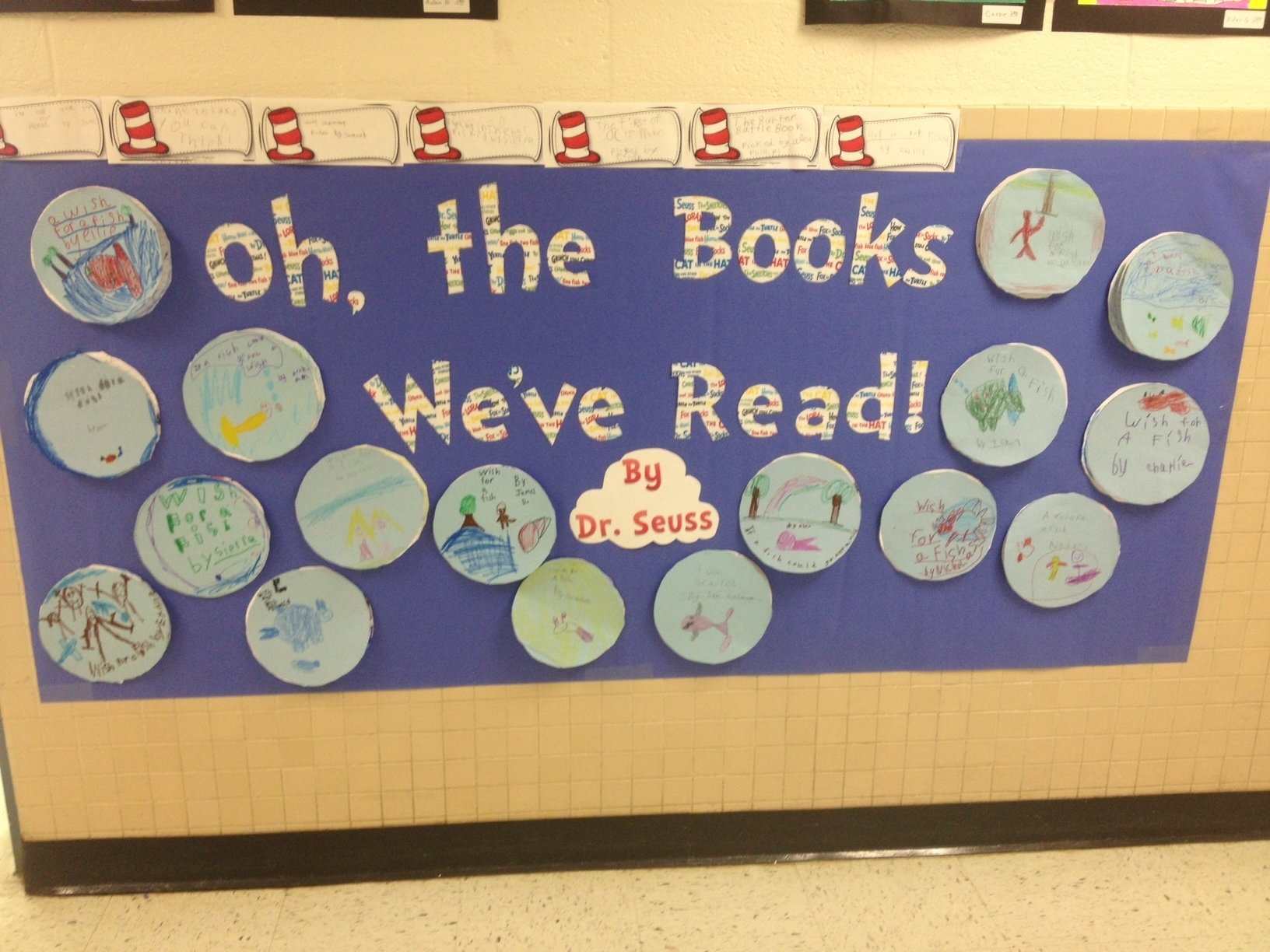 10 Spectacular Read Across America Bulletin Board Ideas oh the places youll go or oh the books weve read each child 2020
