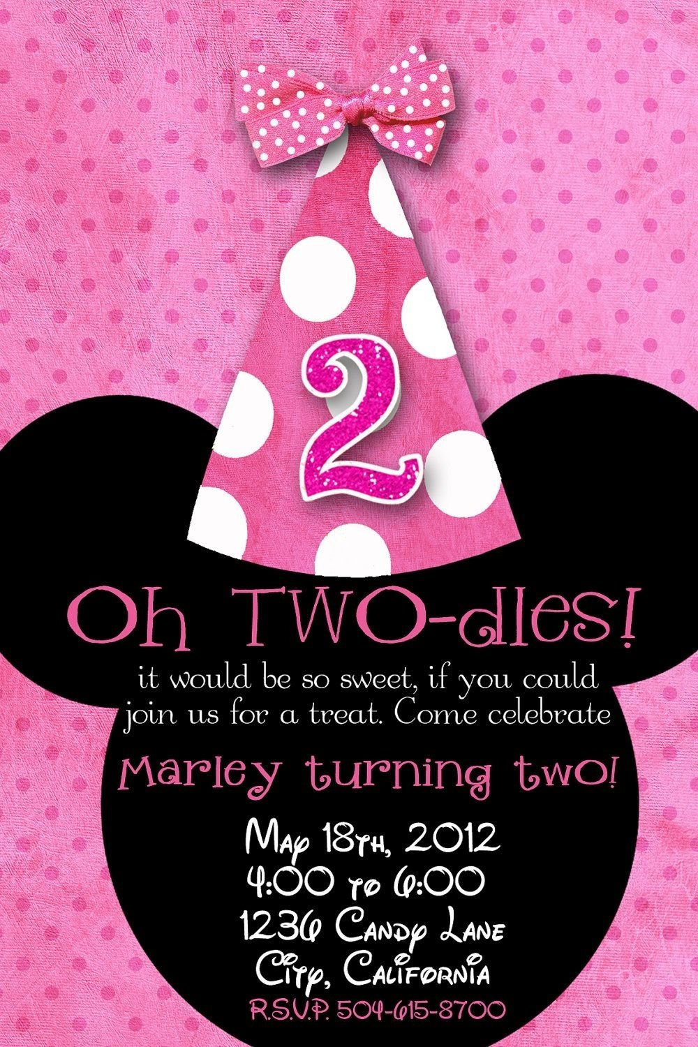 10 Most Popular Minnie Mouse 2Nd Birthday Party Ideas ohtwodles birthday ideas pinterest refuges minnie mouse et