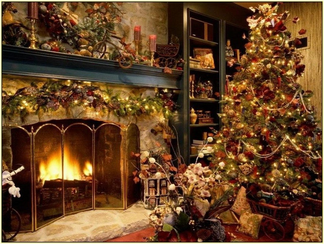 10 Beautiful Old Fashioned Christmas Decorating Ideas