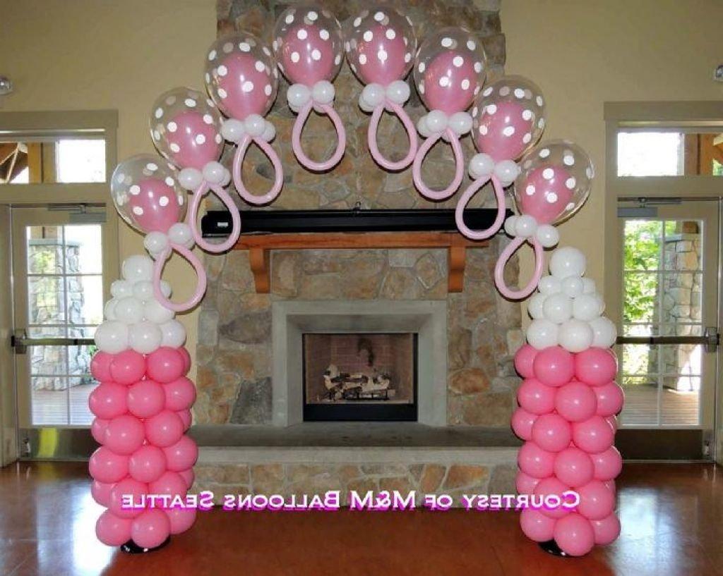 10 Nice Baby Shower Balloon Decoration Ideas old hot air balloon decoration plus baby shower hot air balloon 1