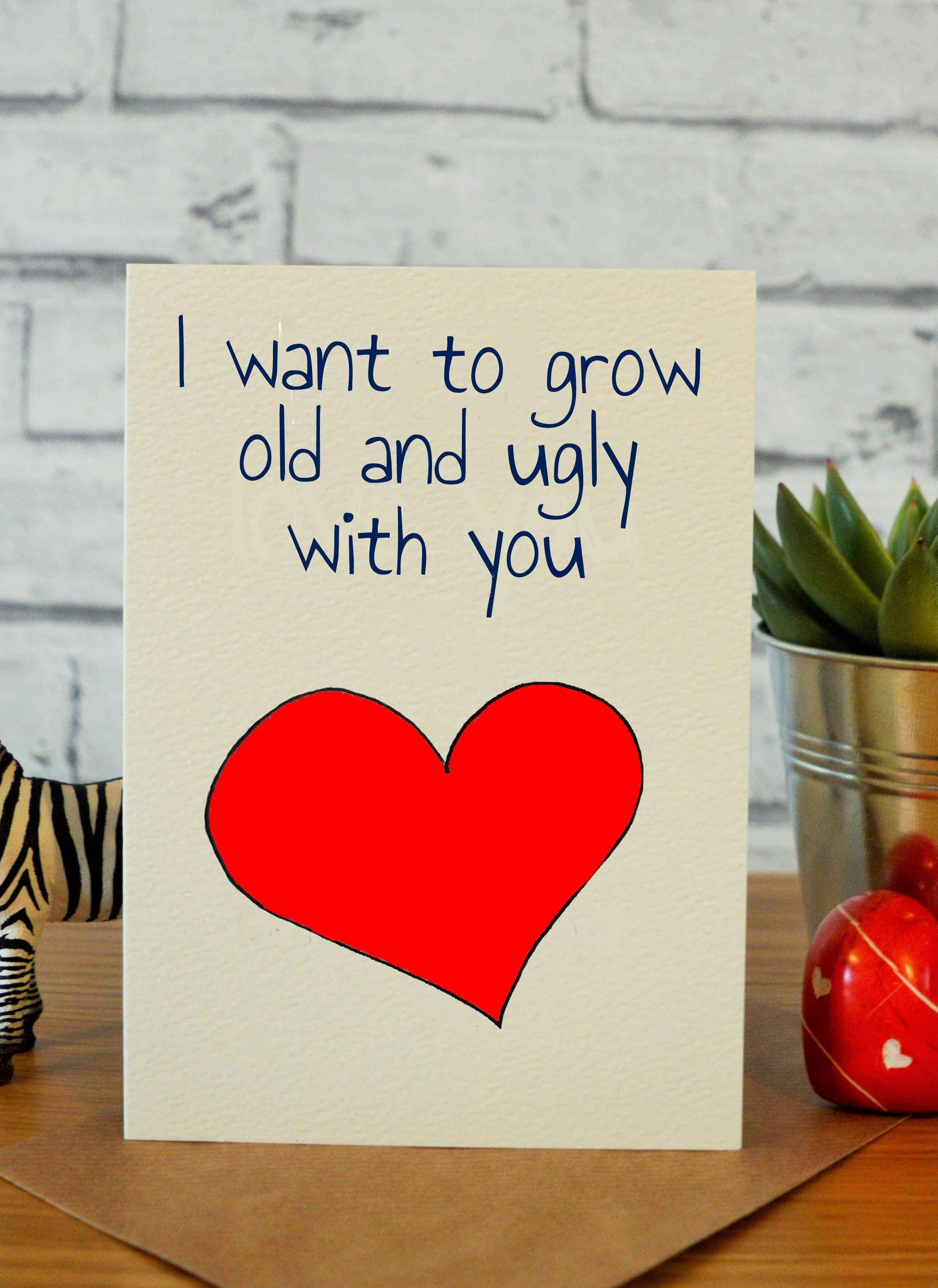 10 Stunning Valentine Card Ideas For Him old ugly funny valentine card card and crafty
