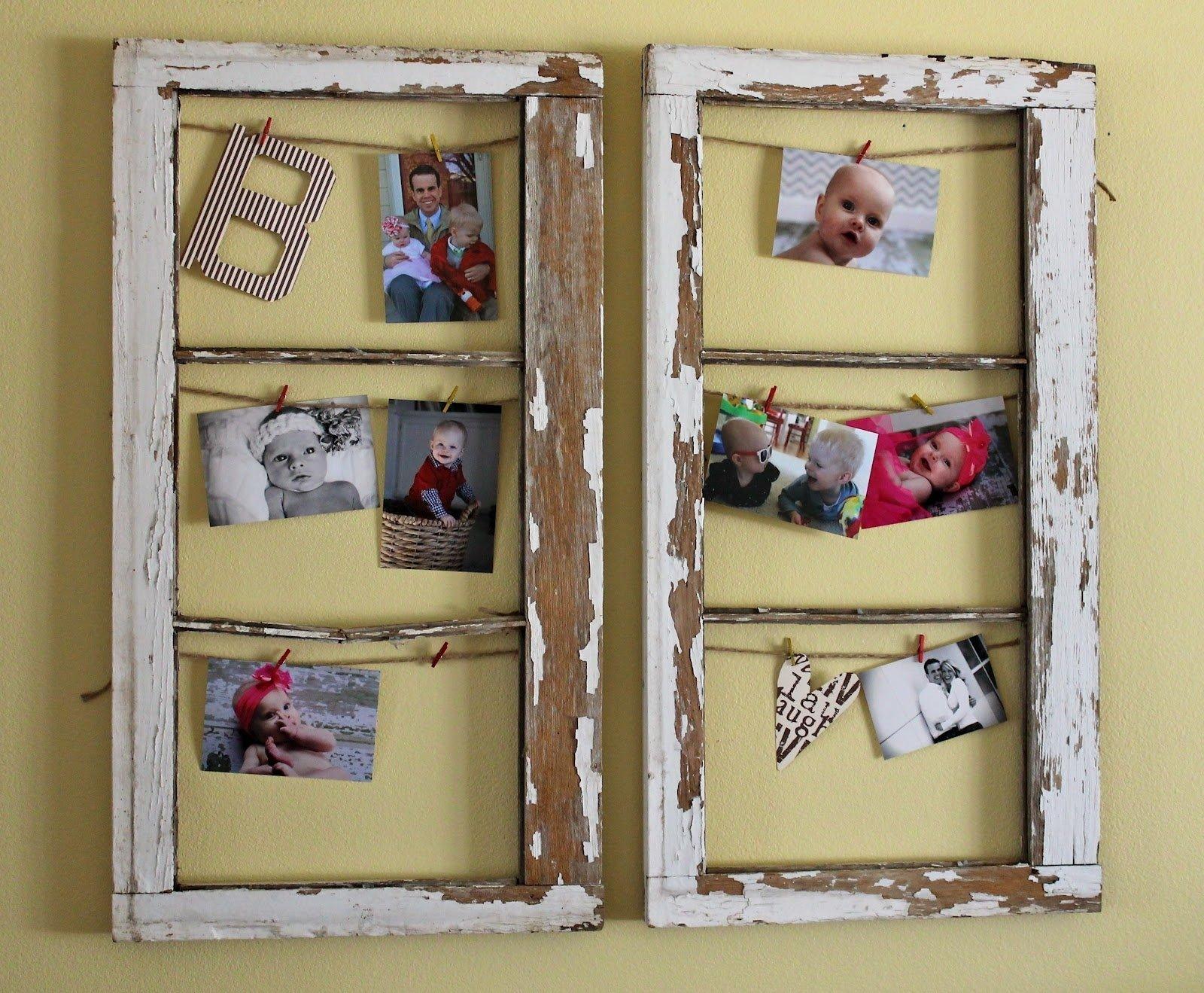 old window frames - home art decor   #61924