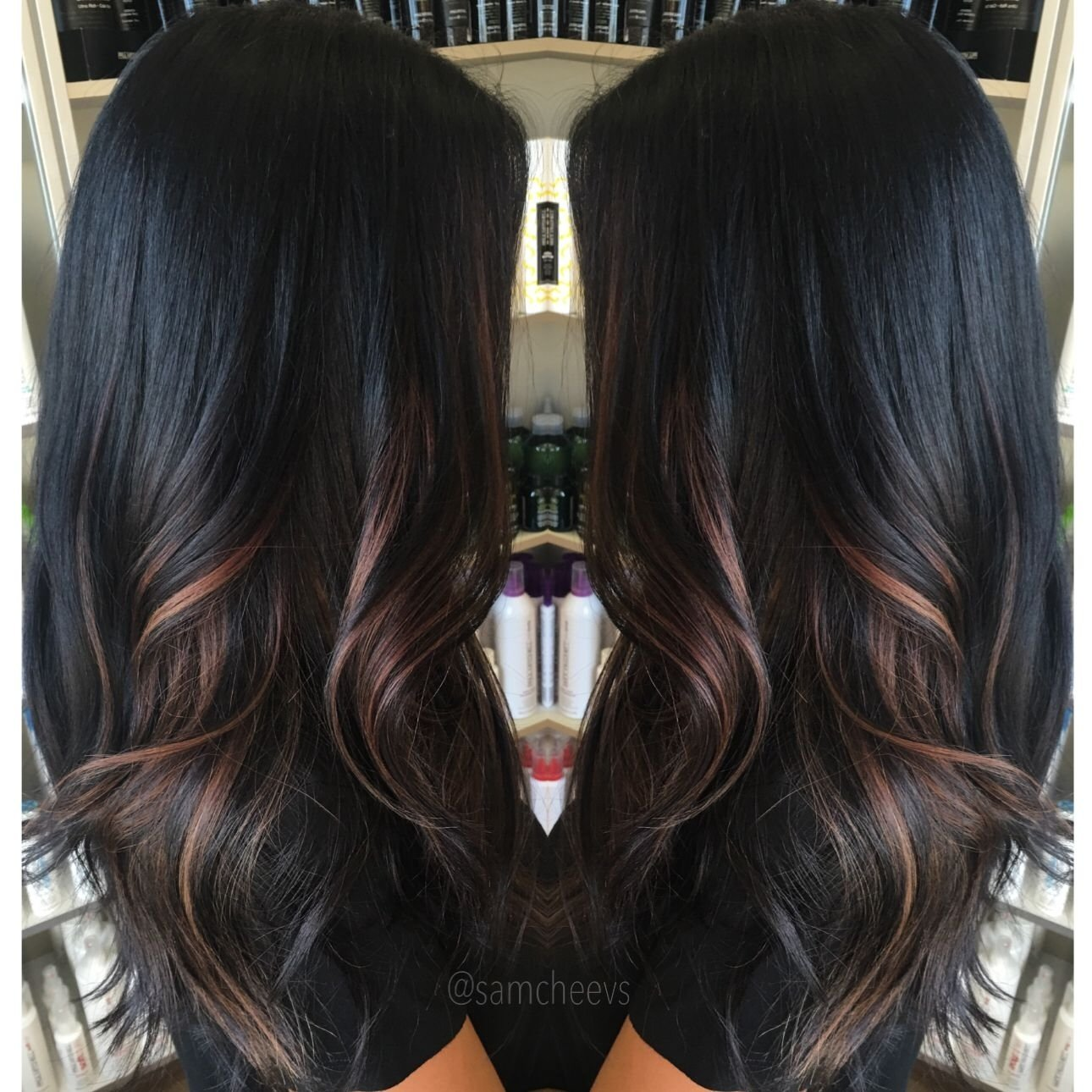 10 Cute Hair Color Ideas For Dark Hair With Highlights 2019
