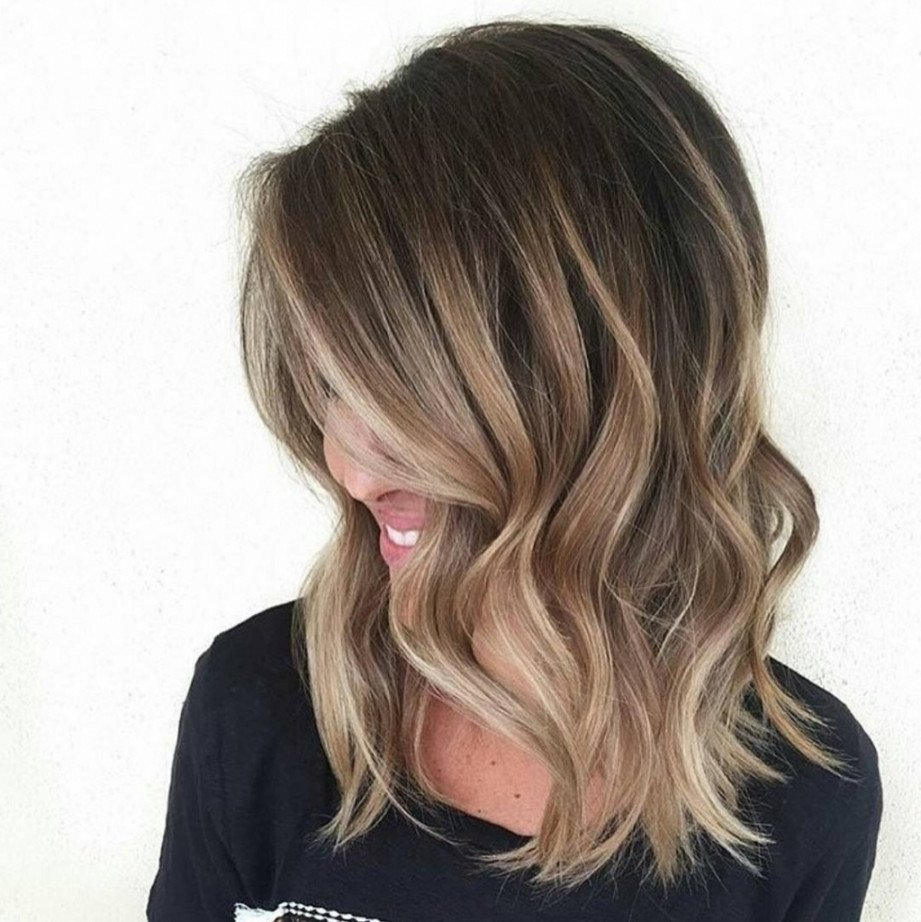 10 Perfect Shoulder Length Hair Color Ideas ombre hair color on medium length hair hair color ideas medium in
