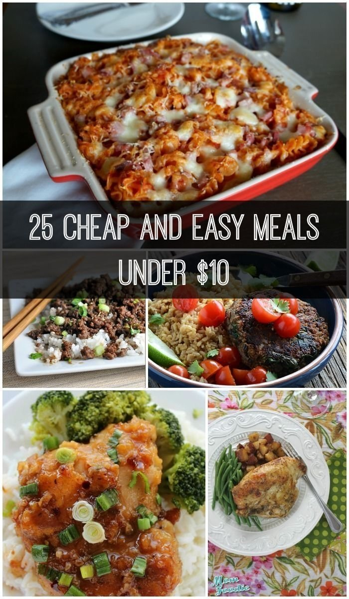10 Stylish Quick Easy Cheap Dinner Ideas on a budget and need some new dinner recipes check out these cheap 2020