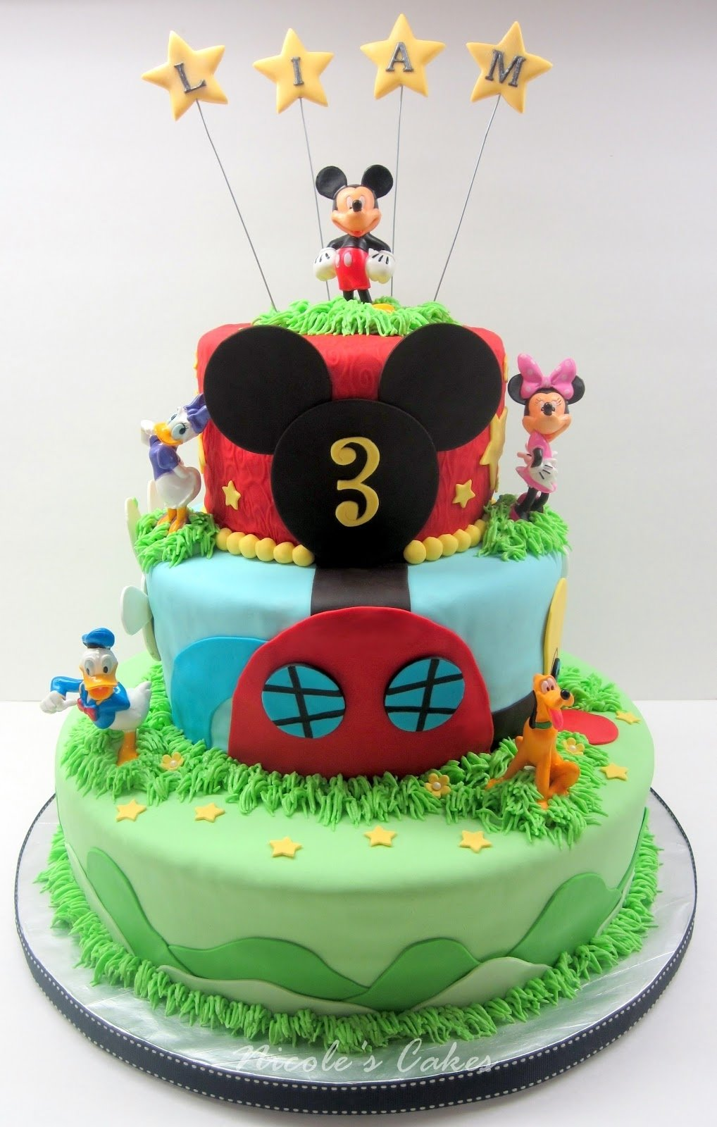 10 Fantastic 3 Year Old Birthday Cake Ideas on birthday cakes mickey mouse clubhouse 3 tier cake