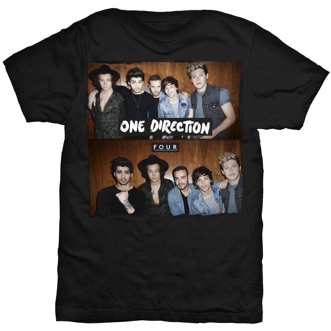 10 Elegant One Direction Shirt Ideas For Concert one direction one direction four black t shirt medium jen 2020