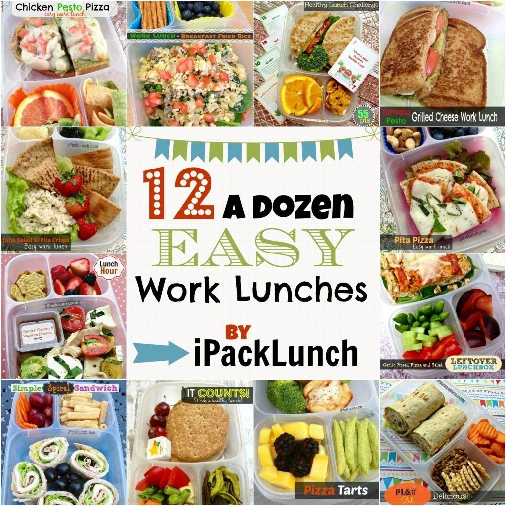 10 Perfect Bring Lunch To Work Ideas one dozen 12 easy work lunch ideas compiled in a single post all 2020