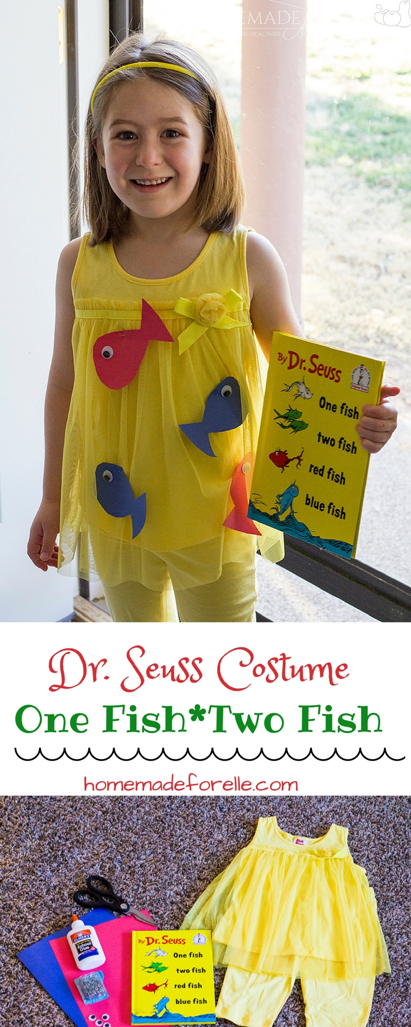 10 Stylish Easy Dr Seuss Costume Ideas one fish two fish costume diy dr seuss costume fish costume 1 2020