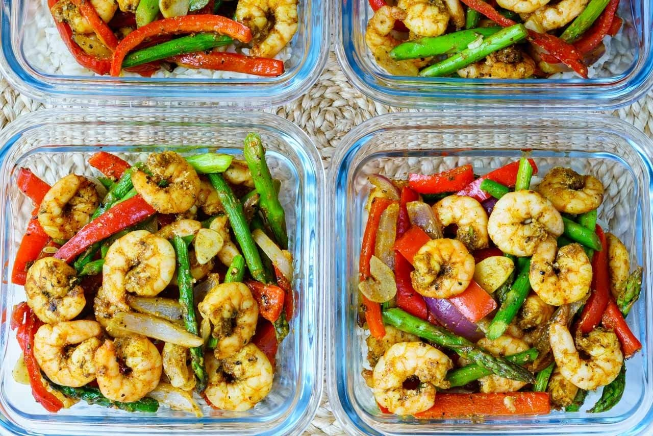 10 Pretty Clean Eating Meal Prep Ideas one sheet pan shrimp fajitas for clean eating food prep clean 2020