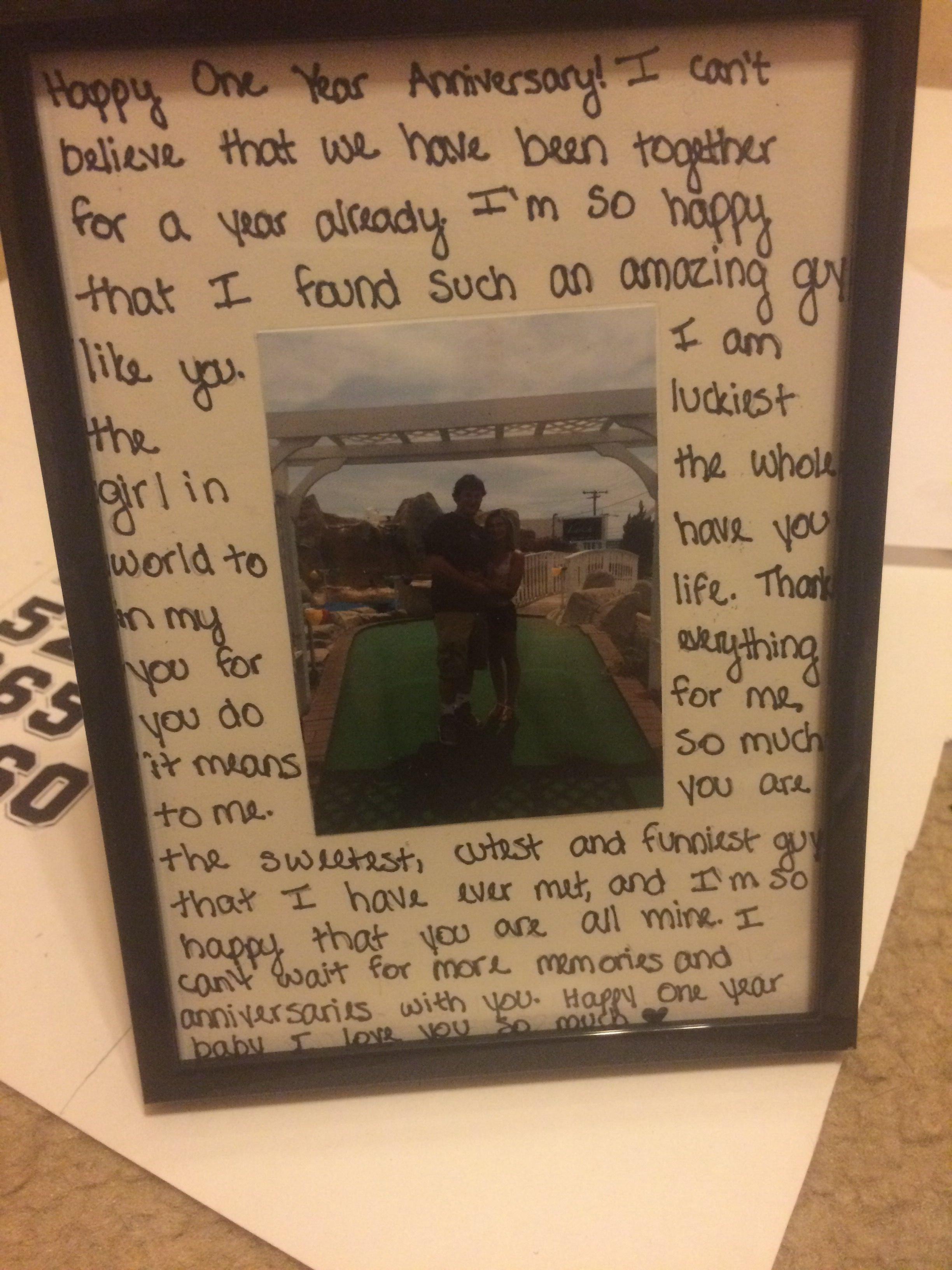 what to get boyfriend for 4 year anniversary