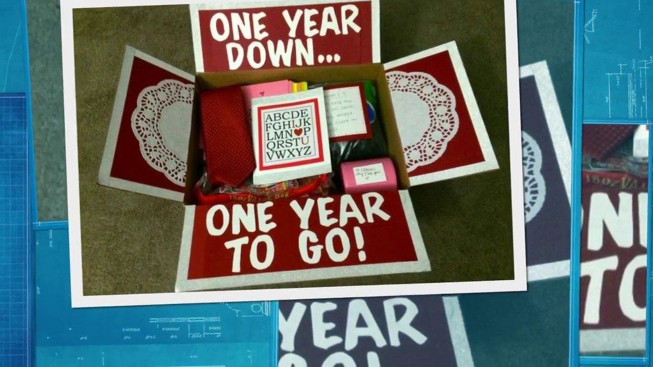10 Wonderful One Year Anniversary Ideas For Boyfriend one year anniversary gifts for boyfriend youtube 1 2020