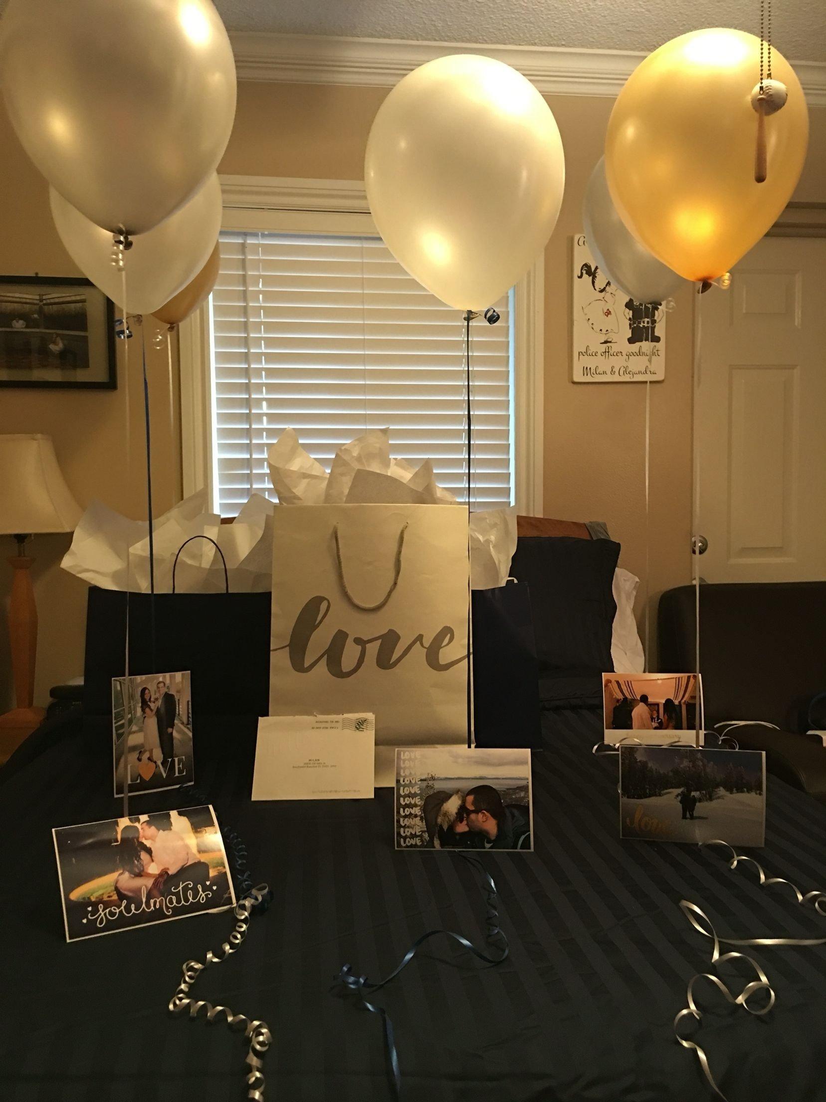 10 Stunning Birthday Party Ideas For Boyfriend one year anniversary pinteres 1