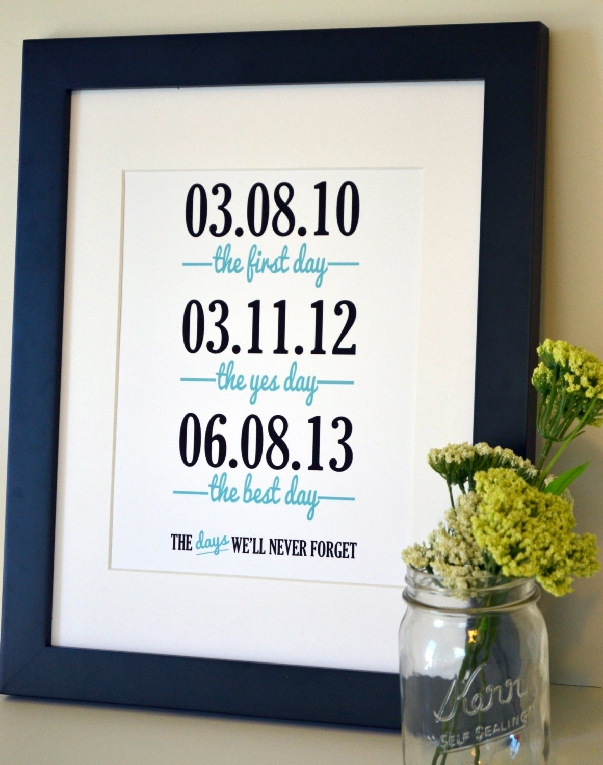 10 stylish first year wedding anniversary gift ideas