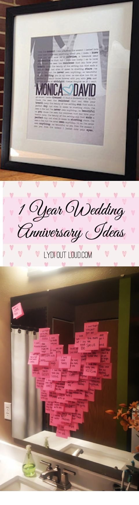 10 Beautiful 3 Year Anniversary Ideas For Her one year wedding anniversary gifts wedding photography 2021