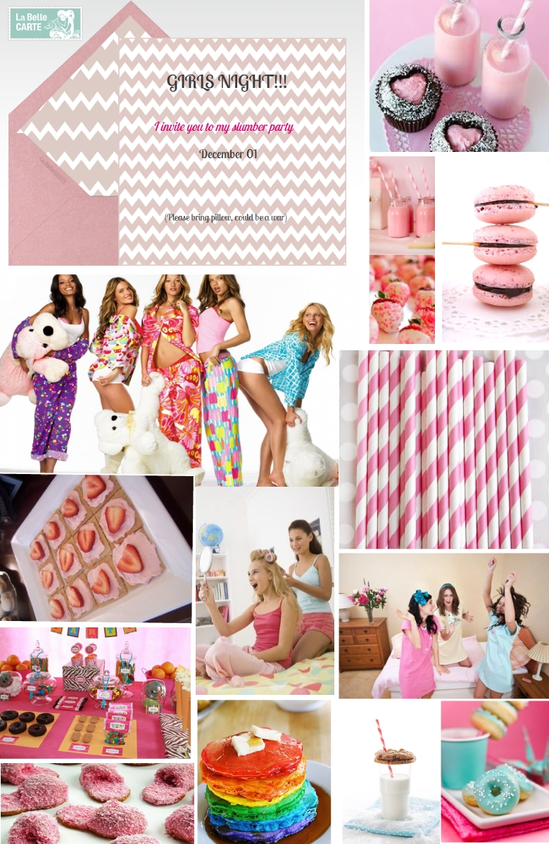 10 Great Slumber Party Ideas For Adults online invitations and ideas for a slumber party la belle blog 1
