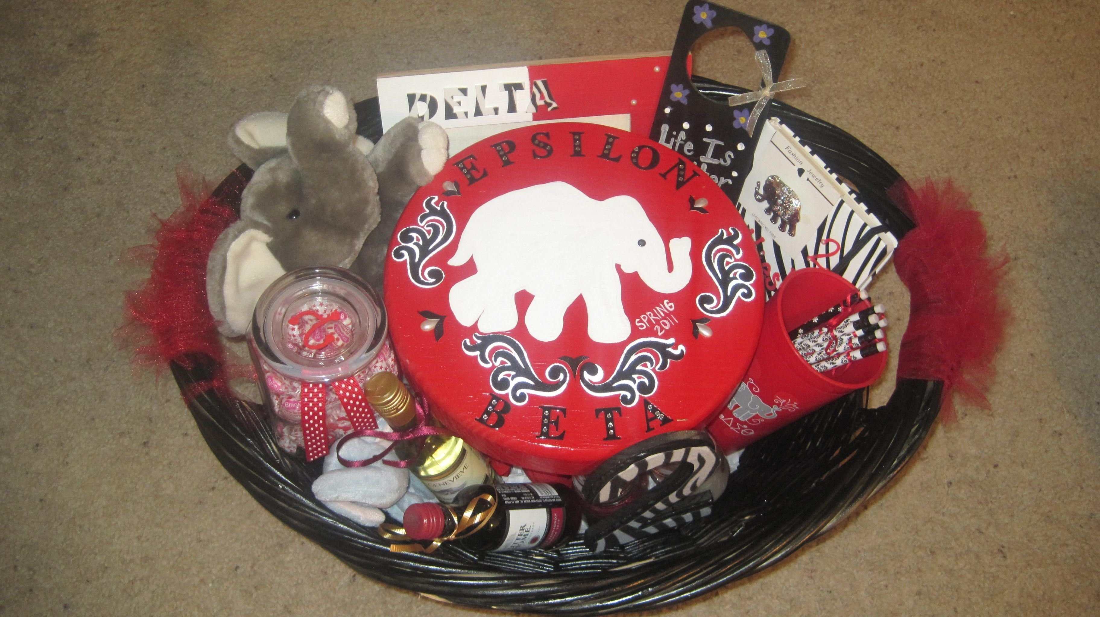 10 Best Delta Sigma Theta Gift Ideas oo oop a delta sigma theta sorority gift basket can be used as 2020