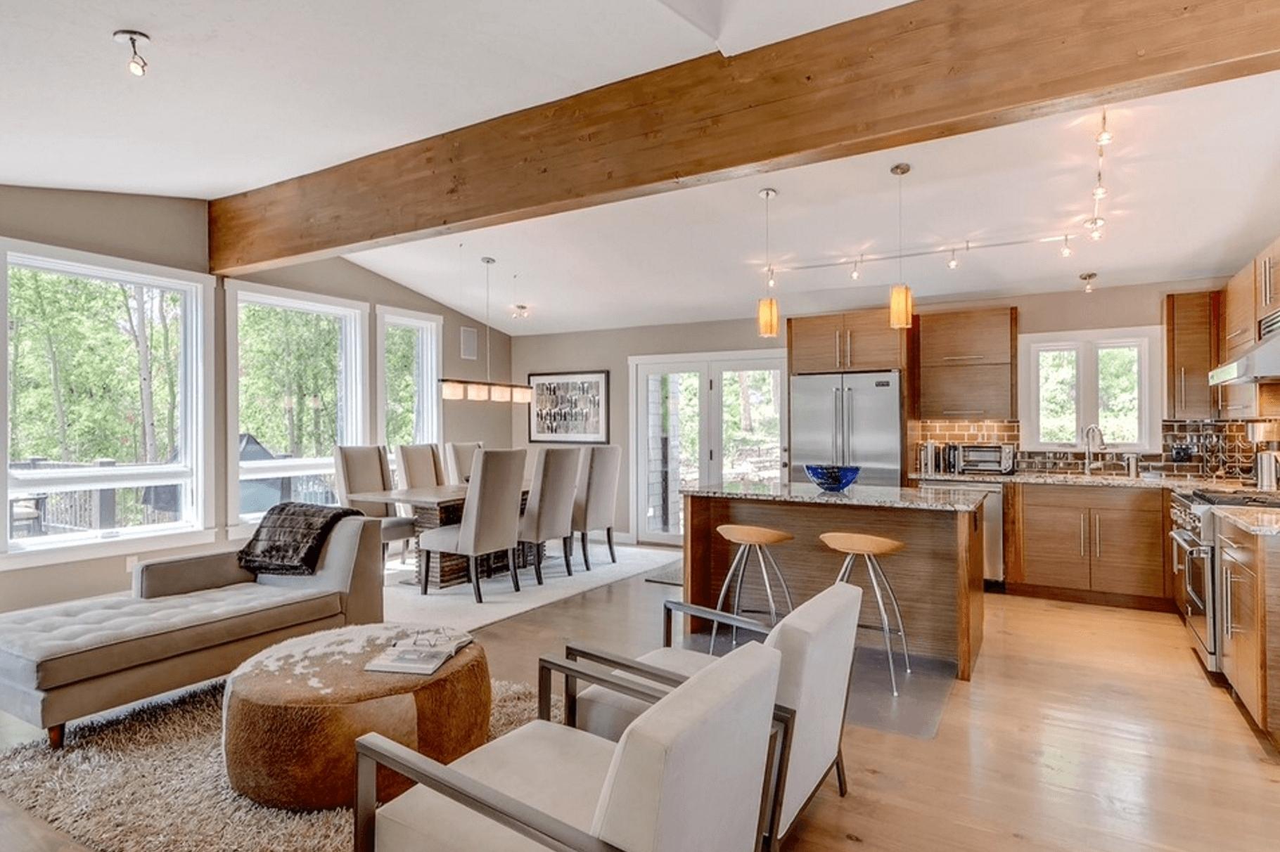 open floor plan living room decorating ideas elegant open floor