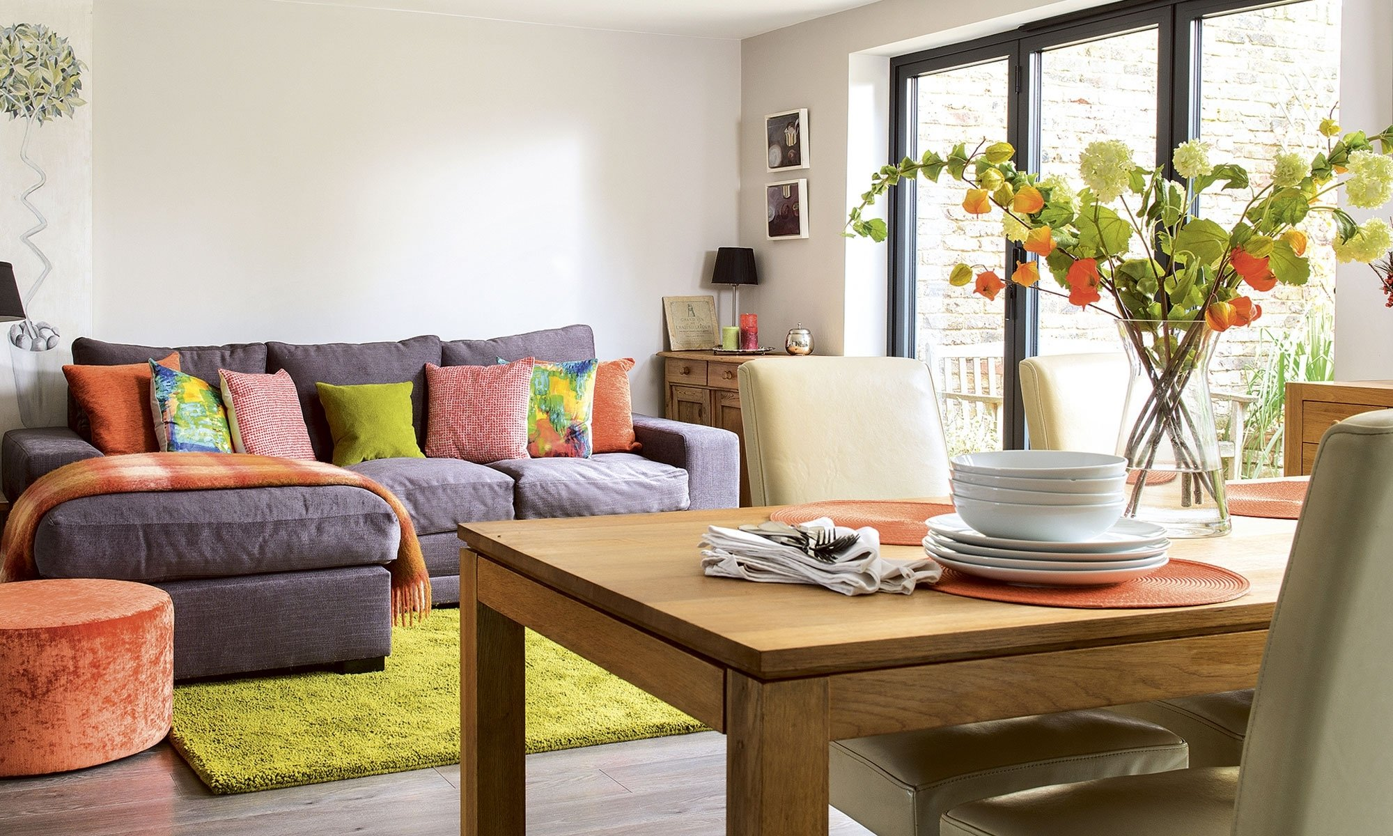 10 Attractive Ideas For Living Room Decor open plan living room ideas to inspire you ideal home 2020