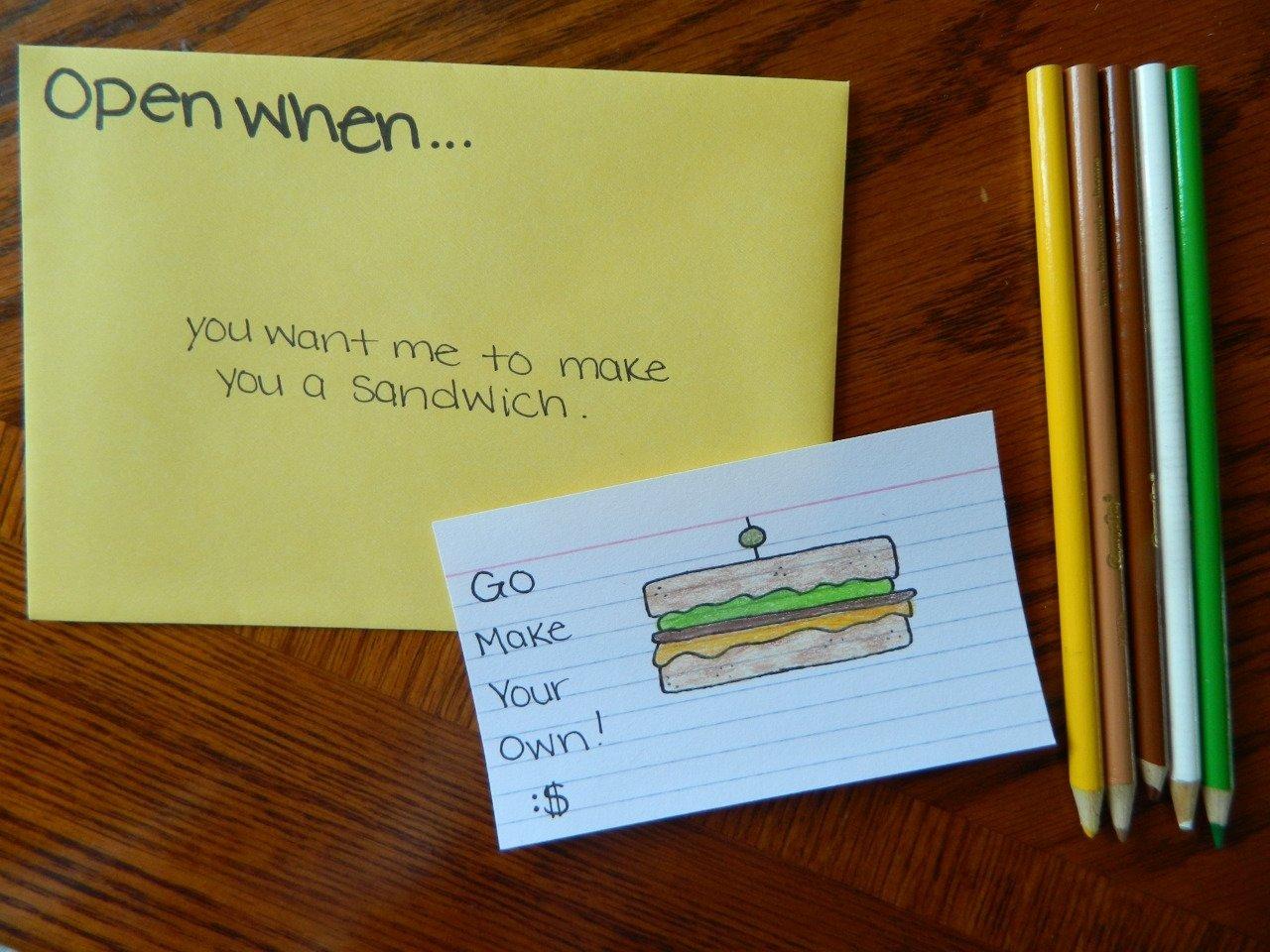 open when | tumblr | open when ideas | pinterest | gift, crafts