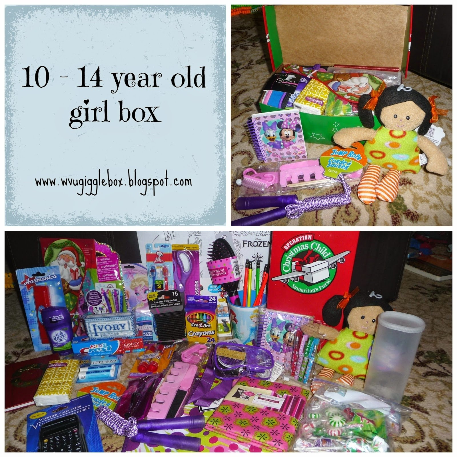 10 Great Christmas Gift Ideas For 10 Year Old Girls operation christmas child 2014 packing a 10 14 year old girl box 2020