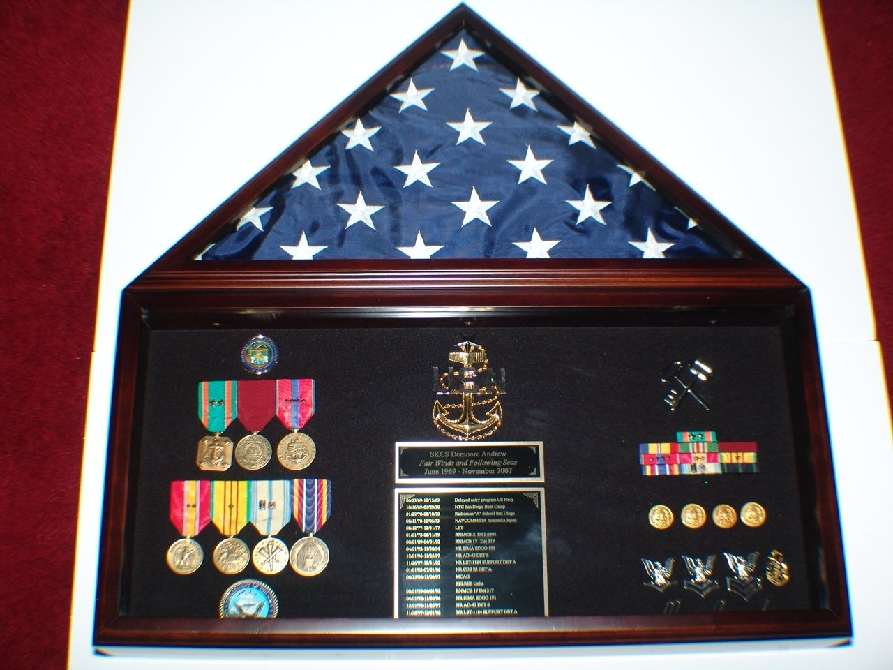 10 Gorgeous Military Retirement Shadow Box Ideas orama content 2020