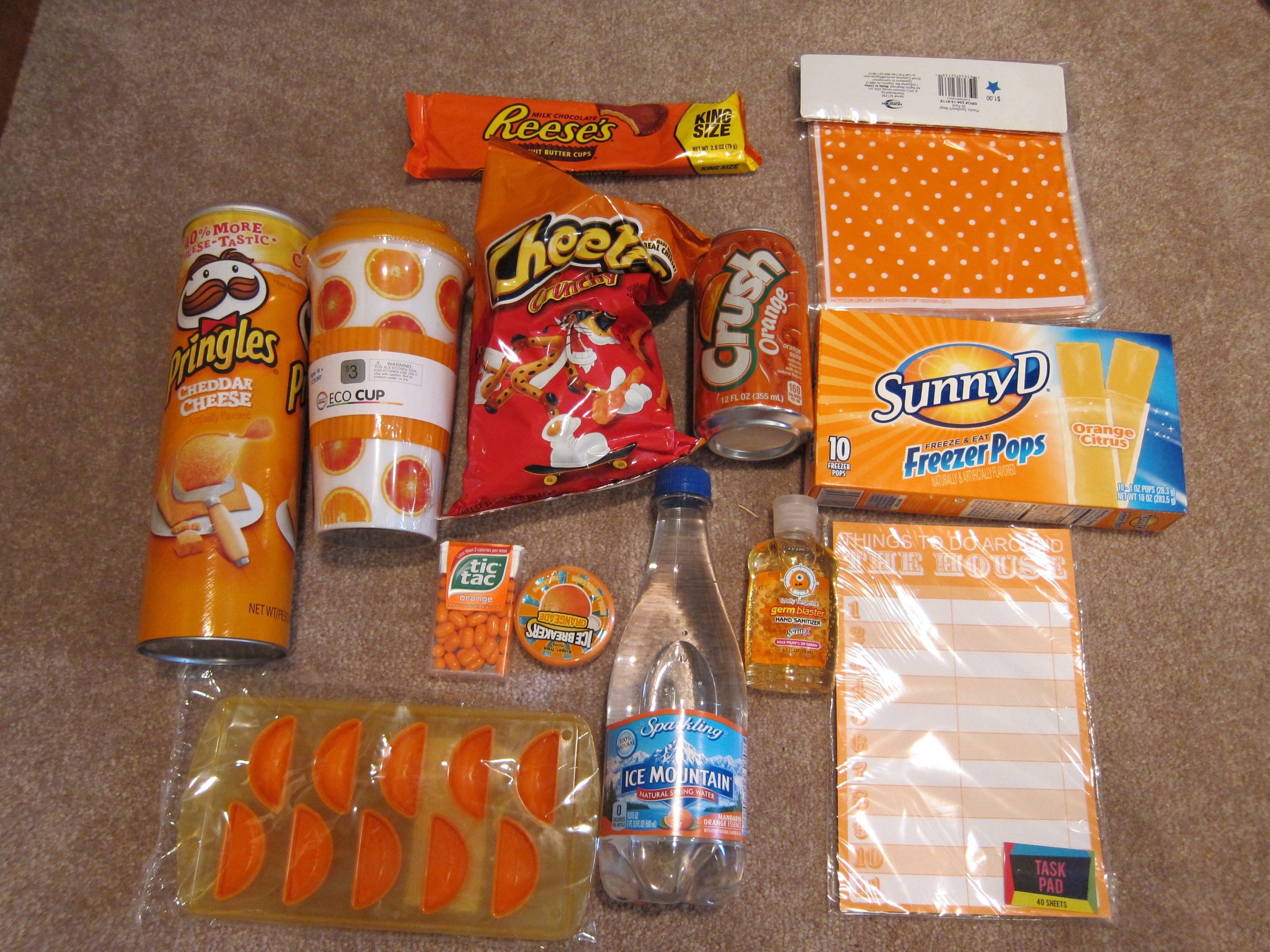 10 Awesome Goodie Bag Ideas For Adults orange goodies for the adults orange you glad its summer bags 2021