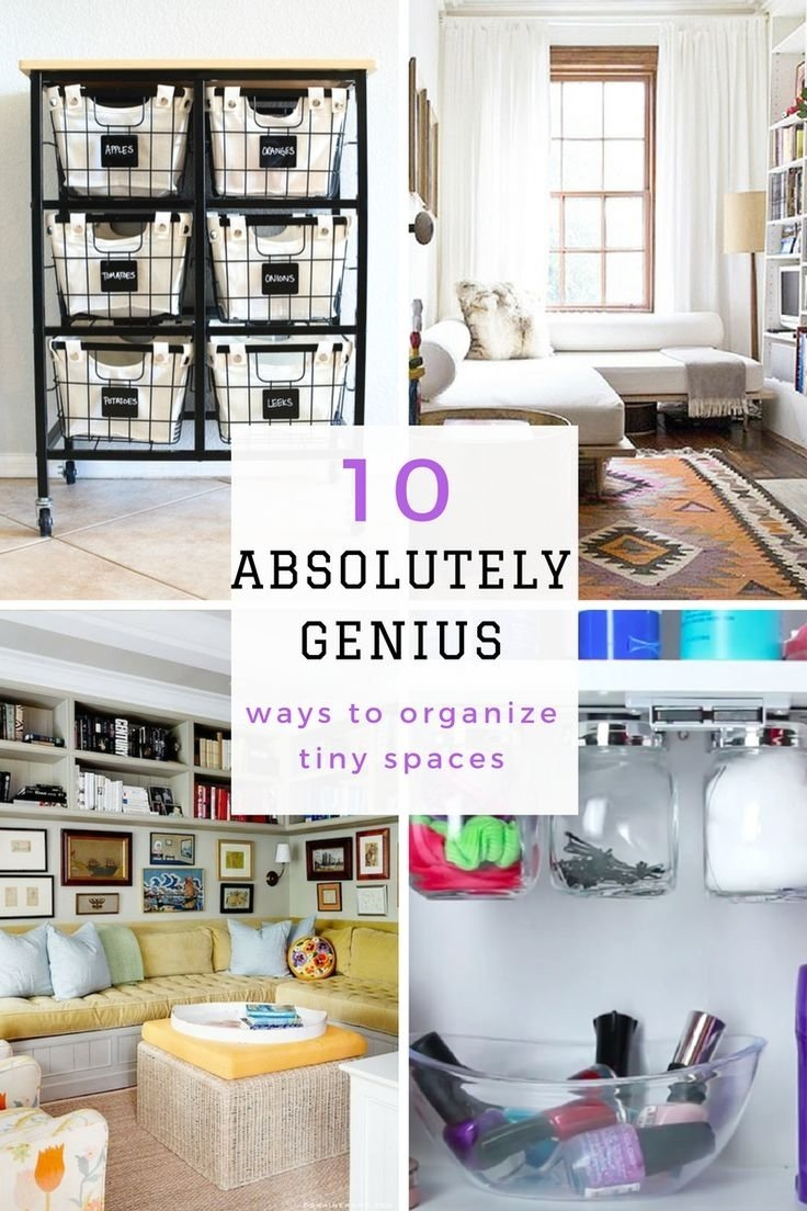10 Cute Organization Ideas For Small Spaces organization ideas for small spaces gostarry 2021