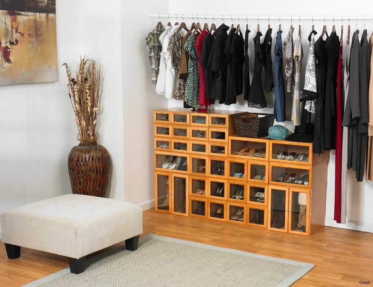 10 Attractive Closet Ideas For Rooms Without Closets organize a bedroom without closet pictures upscale small trm 2020