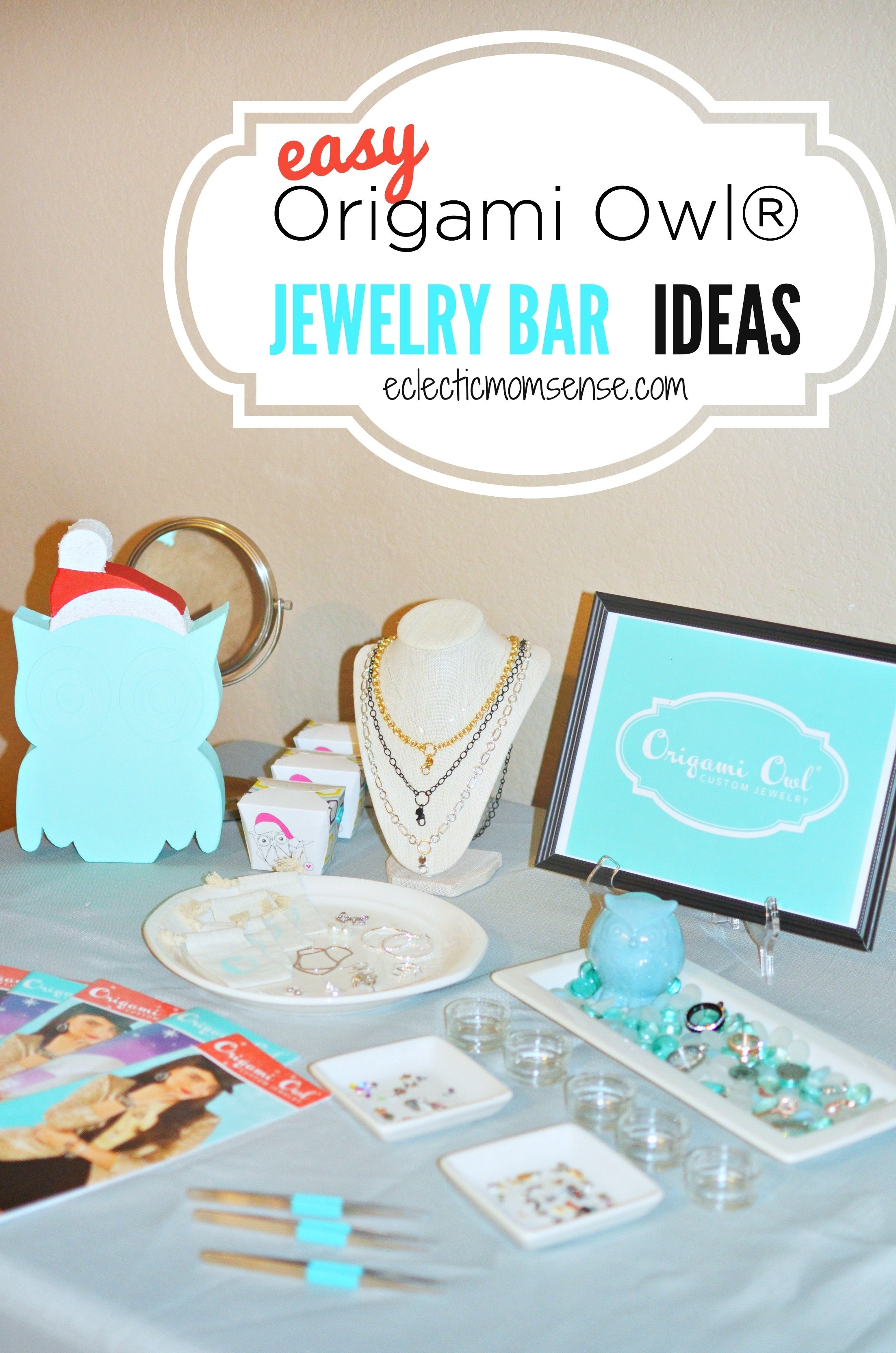 origami owl® jewelry bar ideas - eclectic momsense