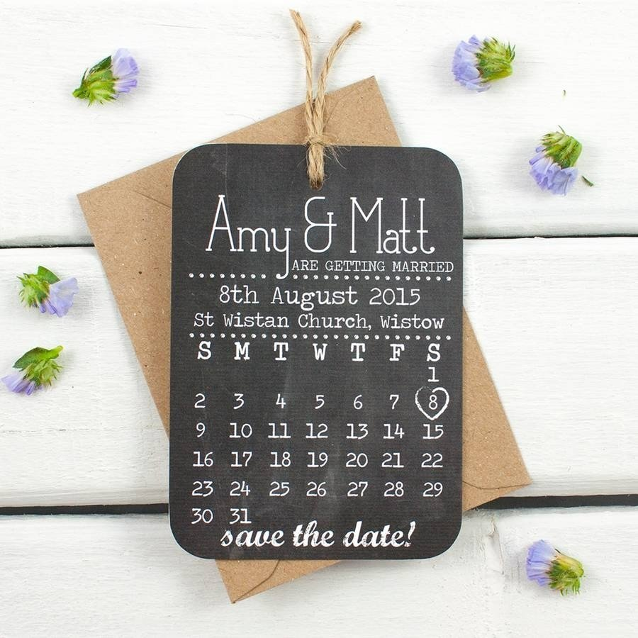 10 Attractive Creative Save The Date Ideas original chalkboard save the date cards perfect finishing ideas 2020