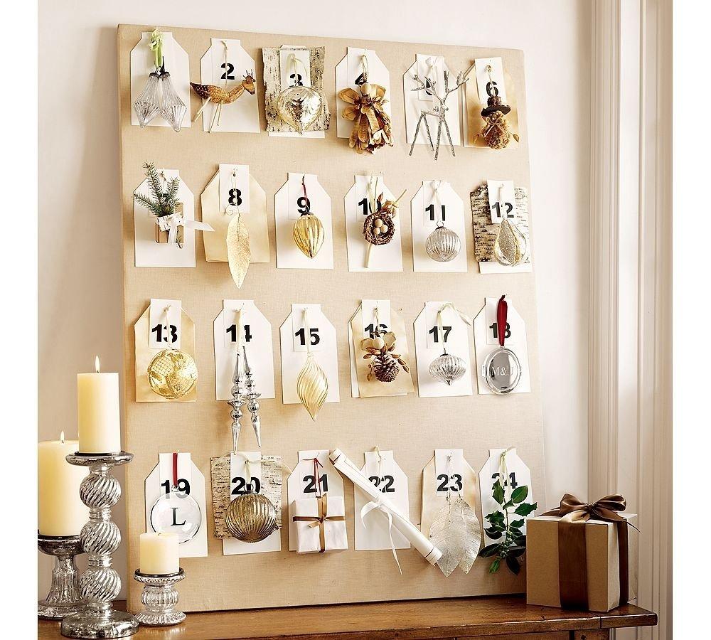 10 Beautiful Advent Calendar Ideas For Adults ornament advent calendar 2021