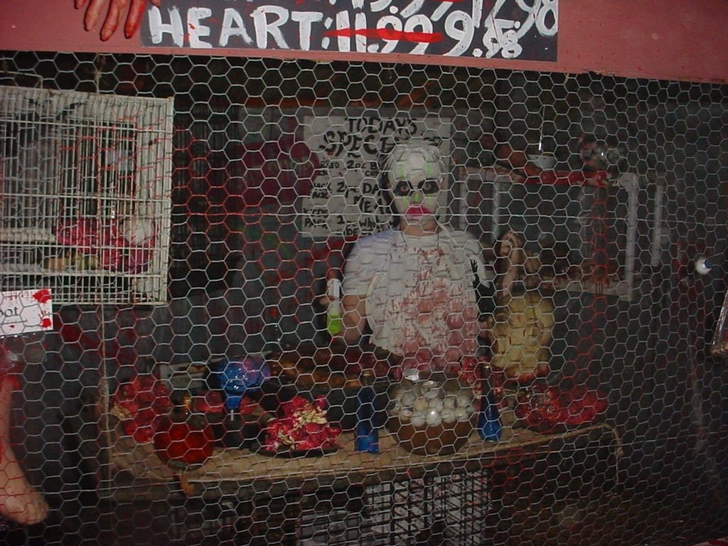 our 2010 haunted house with ideas from instructables