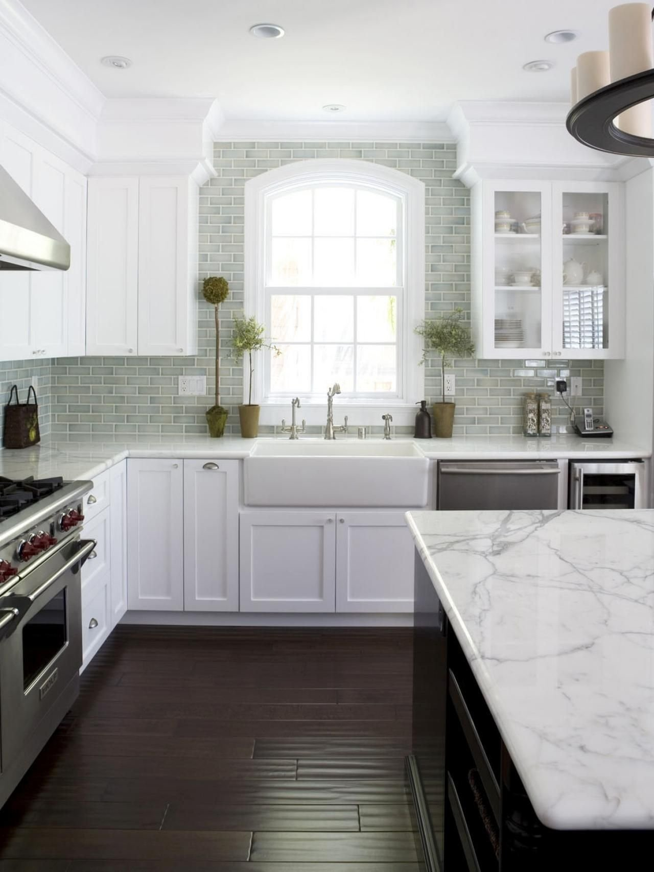 10 Gorgeous Kitchen Ideas With White Cabinets our 55 favorite white kitchens hgtv kitchens and calacatta marble 2020