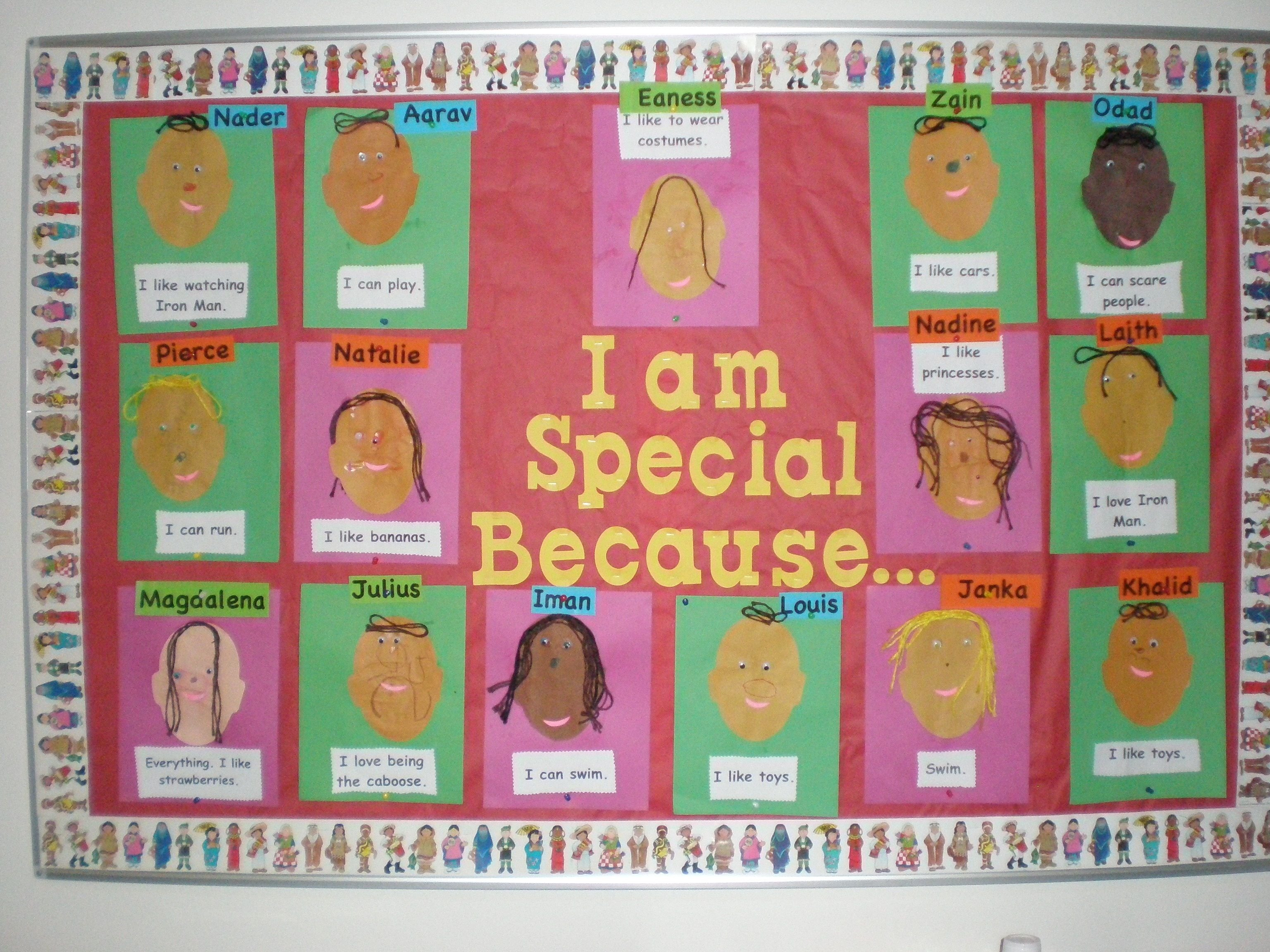 10 Most Recommended All About Me Bulletin Board Ideas our bulletin board for our all about me unit displays pinterest 1