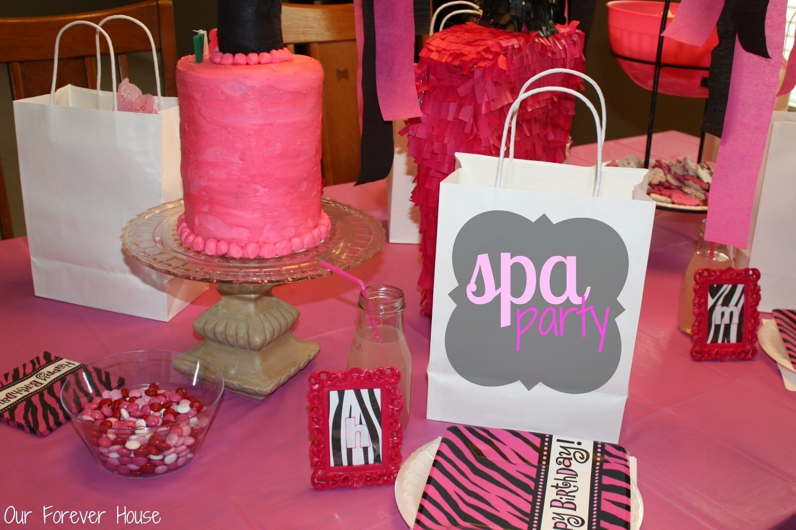 10 Gorgeous Spa Party Ideas For Girls our forever house girly spa party 1 2021