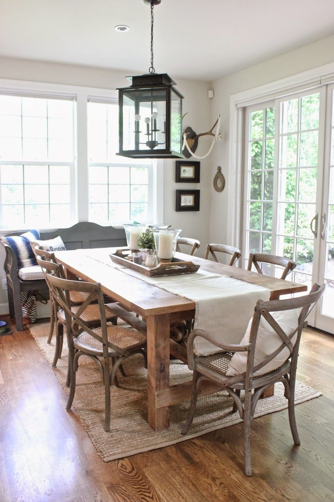 10 Lovable Centerpiece Ideas For Dining Room Table our home the spring version spring room and centerpieces 2020