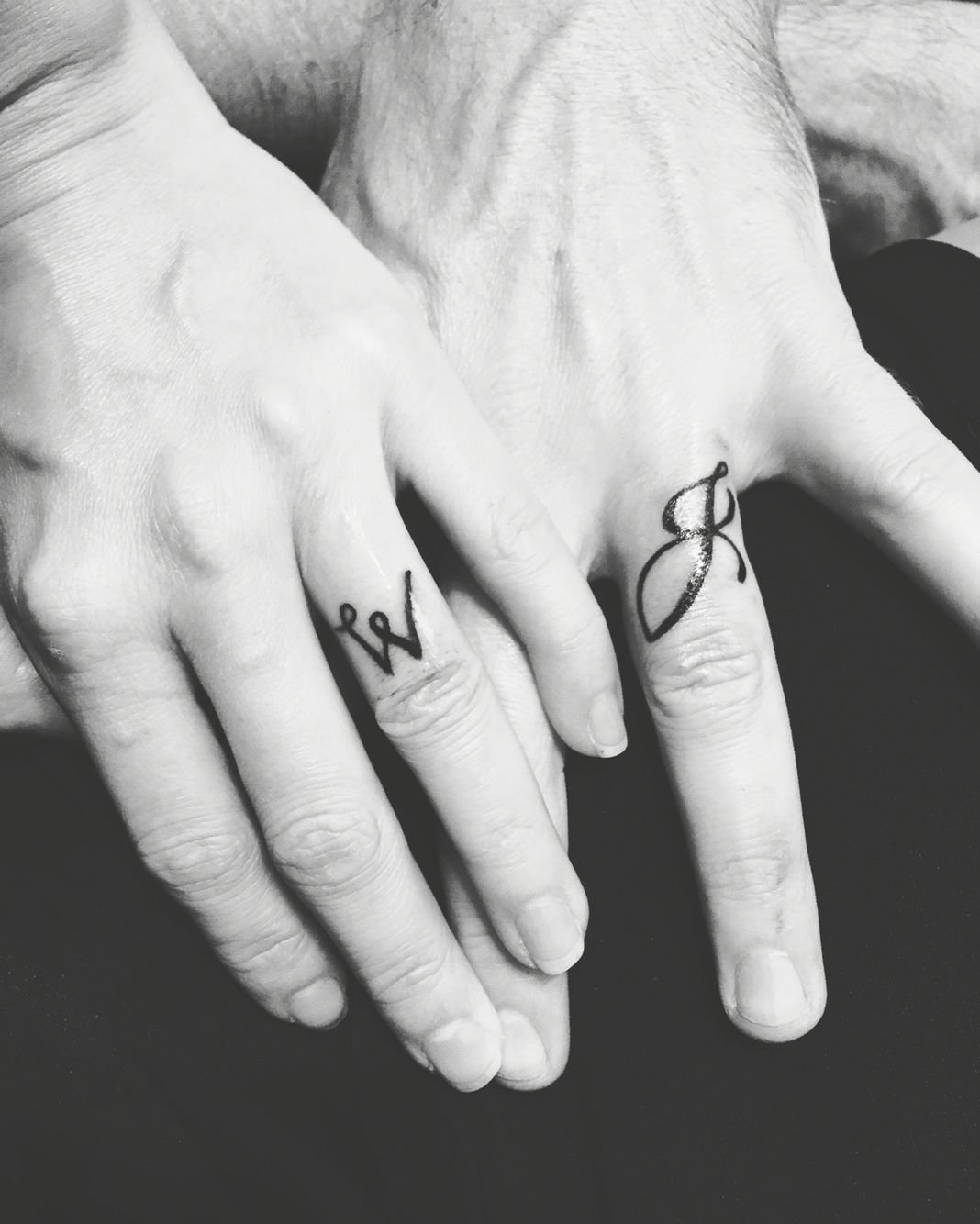 10 Beautiful Husband And Wife Tattoo Ideas our matching husband wife tattoo will and jessica