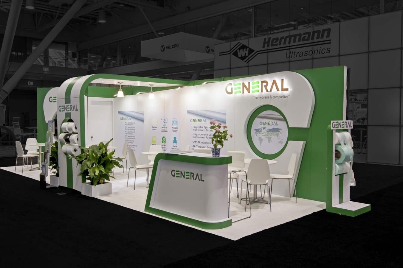 10 Fashionable Creative Trade Show Booth Ideas our work creative trade show displays