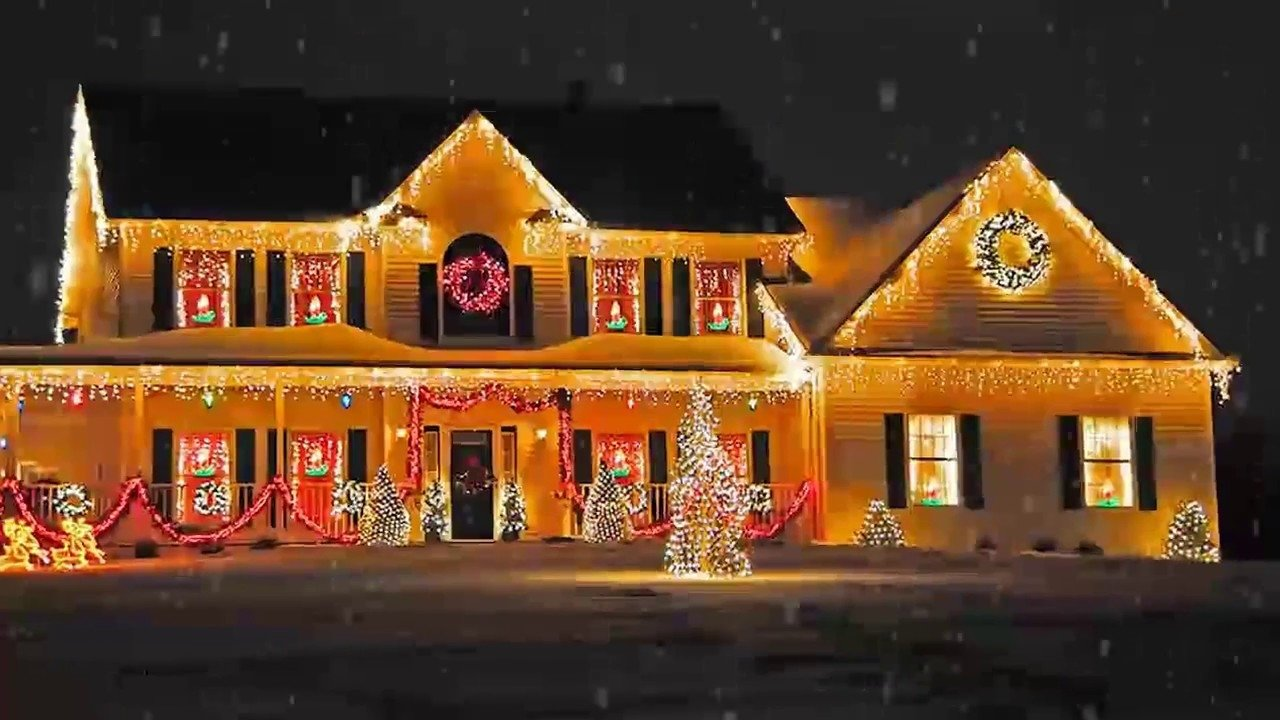 10 Lovable Outdoor Decorating Ideas For Christmas outdoor christmas lighting decorations ideas for home office back