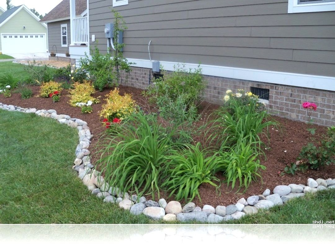 10 Unique Landscaping Ideas For Front Yard outdoor design small house simple garden design with front yard 2021