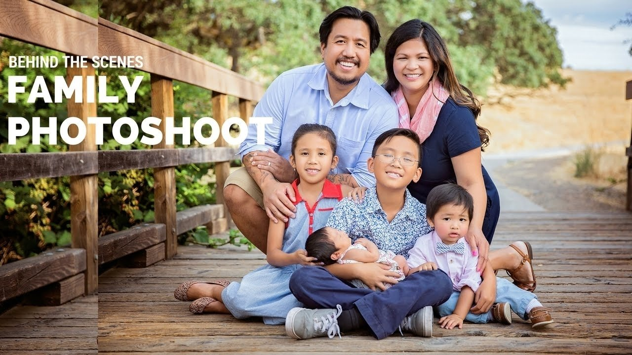 10 Awesome Family Of Four Photo Ideas outdoor family photo session using only natural light family posing 1 2021
