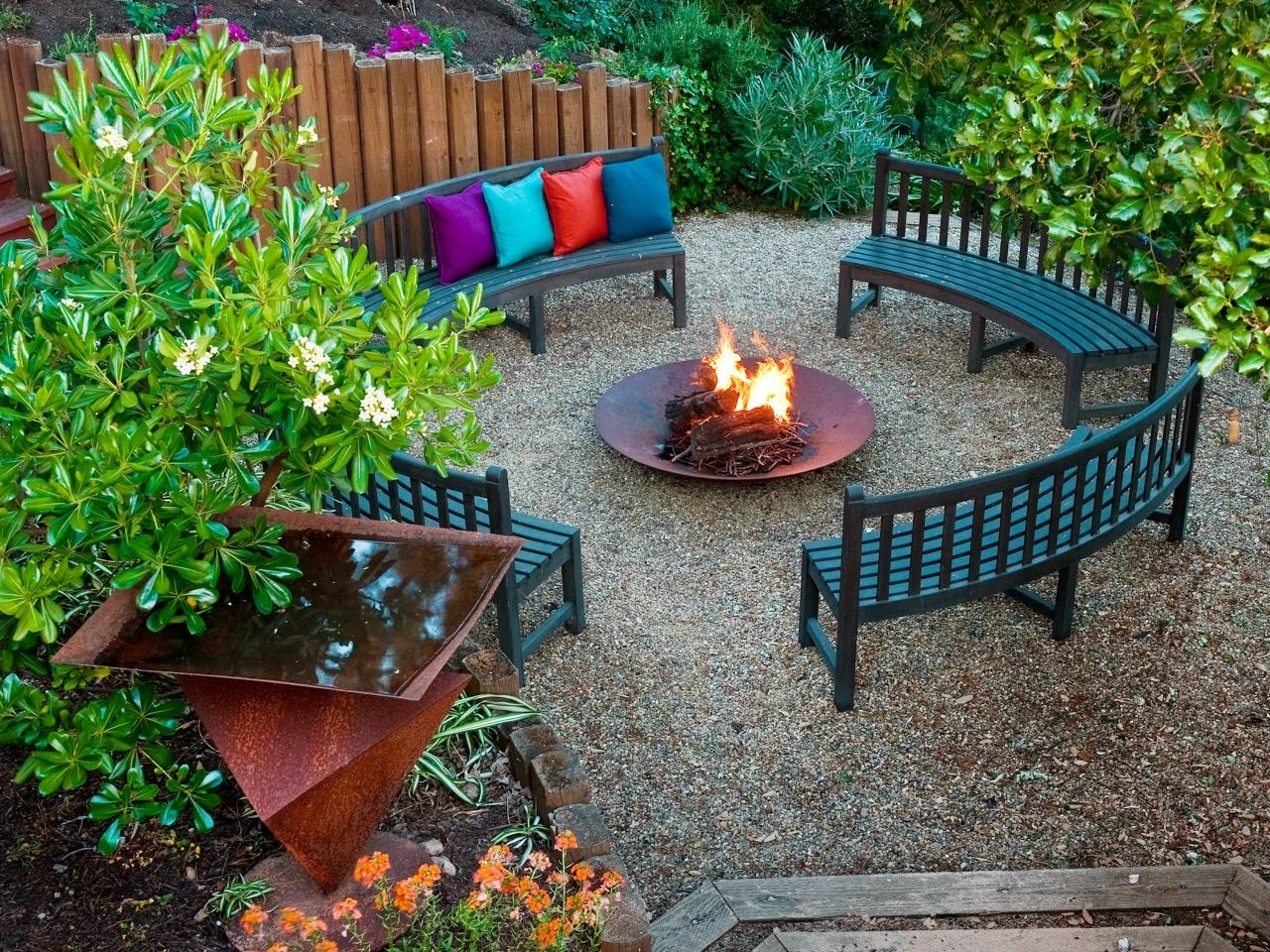 10 Best Fire Pit Ideas Outdoor Living %name 2020