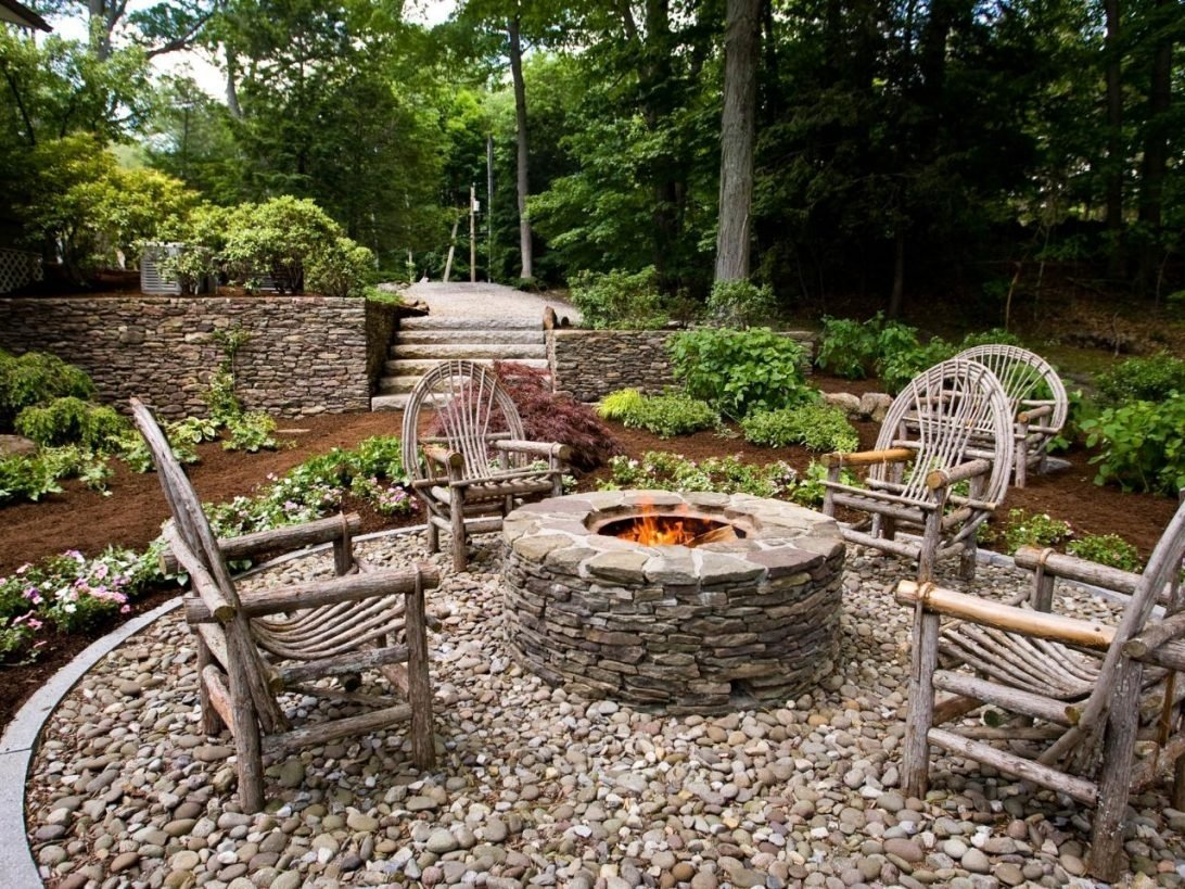 outdoor fire pit landscaping ideas - outdoor designs