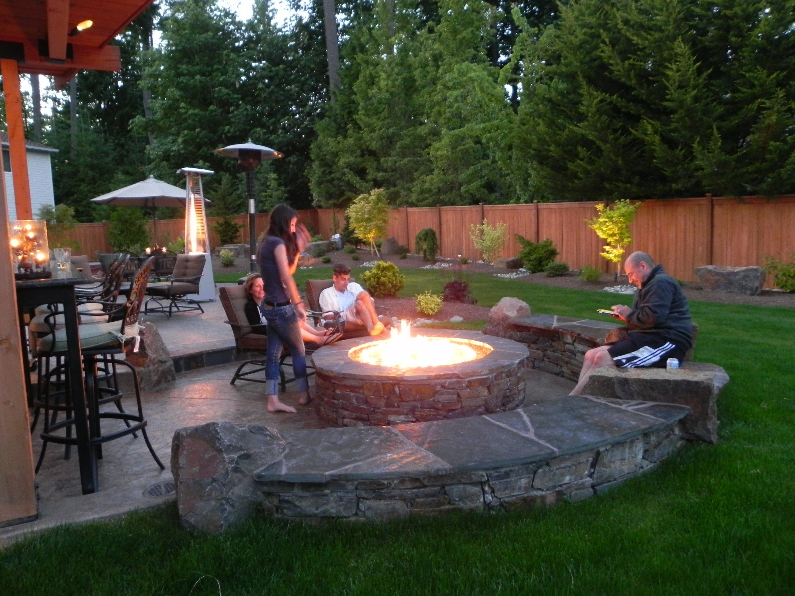 10 Perfect Patio Design Ideas With Fire Pits outdoor fire pits and pit safety landscaping ideas bluestone plus 2021